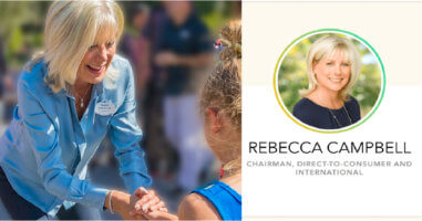Cover photo of Rebecca Campbell.
