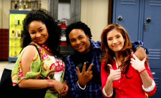Orlando Brown with costars from That's So Raven