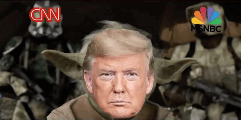 Trump as Yoda