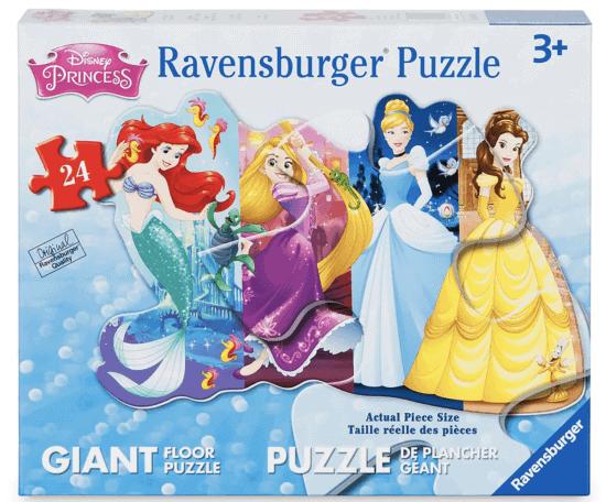 disney princess floor puzzle box