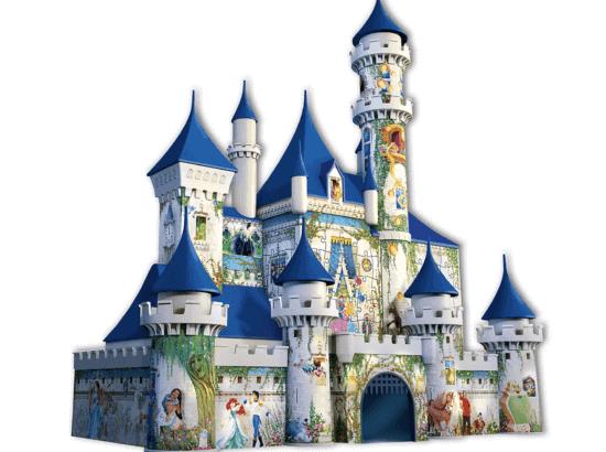 3D disney castle puzzle finished