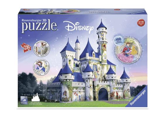 3D Disney castle puzzle