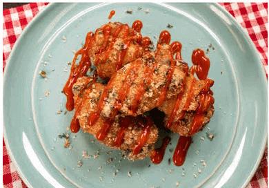 Ranch Fried Chicken Wings