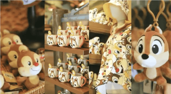 chip and dale trading post merchandise