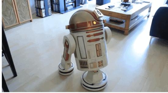 R2-D2 Robot Vacuum