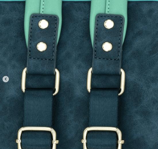 heathered straps
