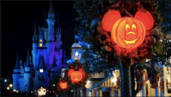 cinderella castle halloween