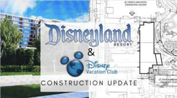 Disneyland DVC tower update