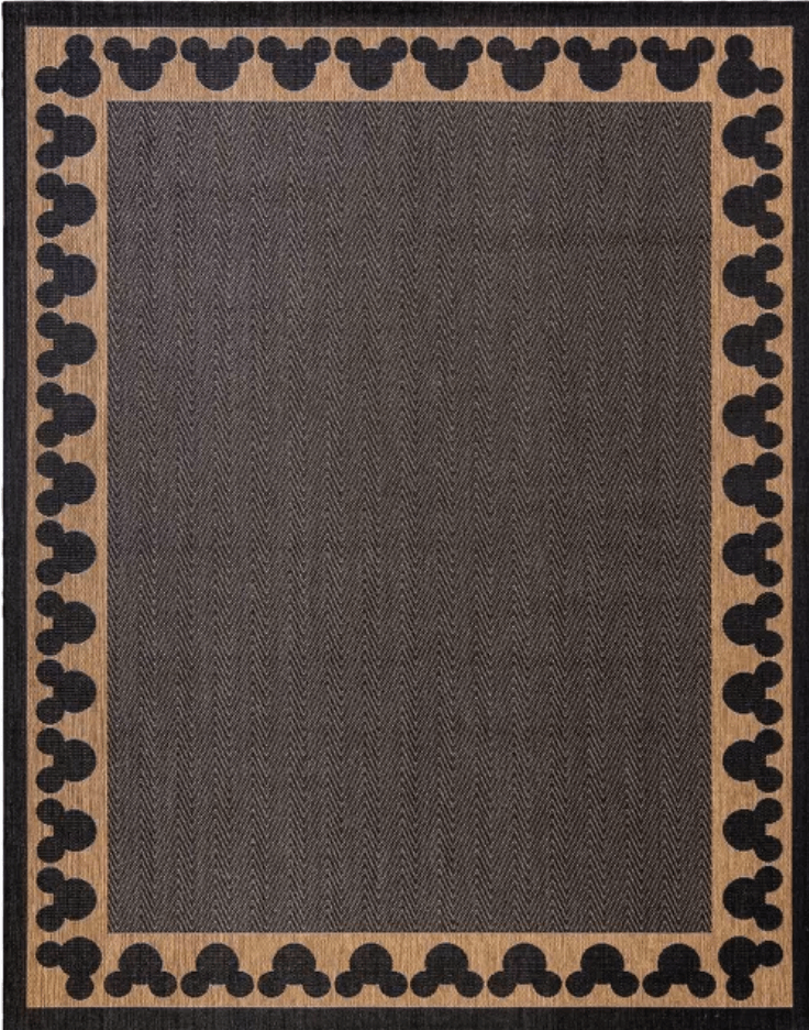 Mickey Mouse & Friends Chestnut Rug