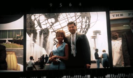 Richard and Elizabeth Sherman at the World's Fair