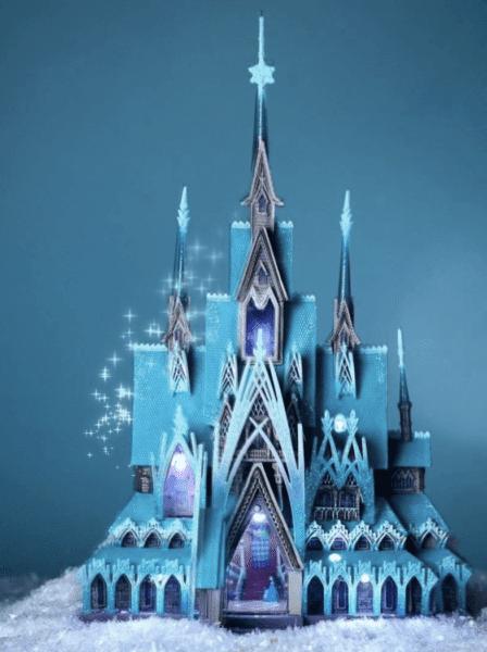arendelle castle figurine