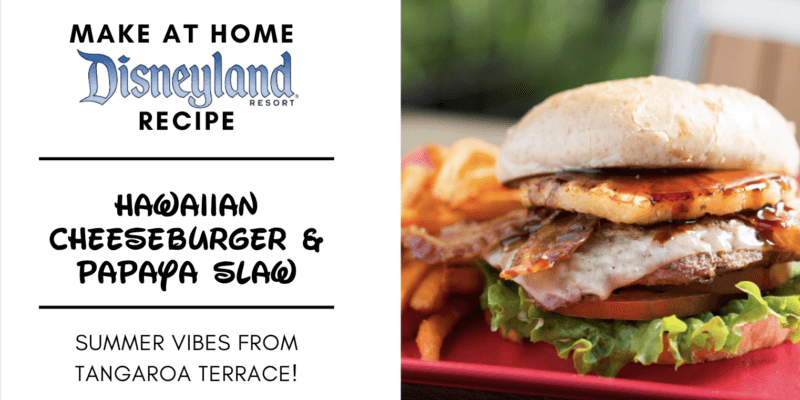 hawaiian burger header