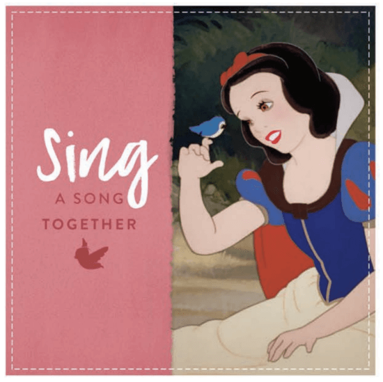 snow white father's day coupon