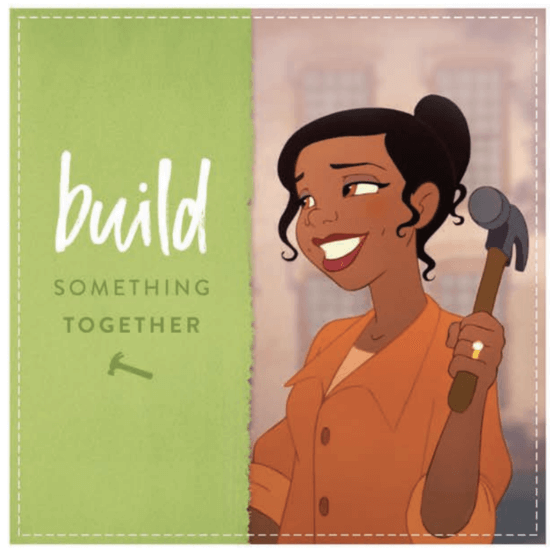 tiana father's day card