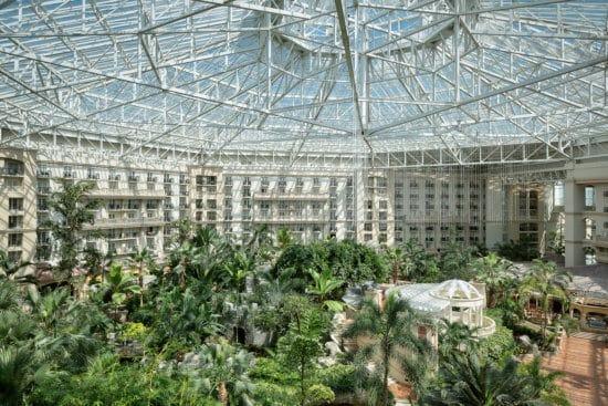Gaylord Palms glass atrium