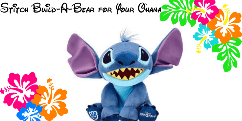 stitch build a bear