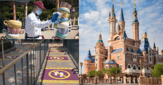 Shanghai Disney Resort Health and Safety procedures
