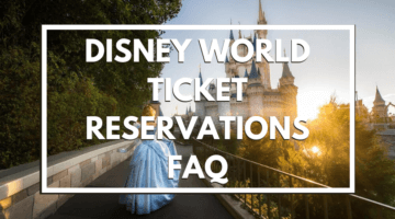 ticket reservations faq header