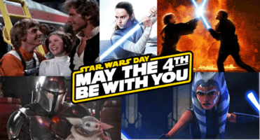 Star Wars celebration May the 4th