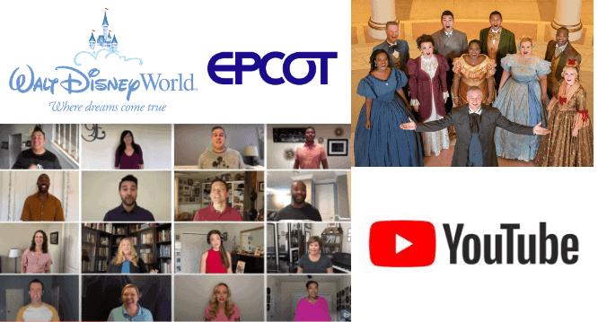EPCOT Voices of Liberty Disney Youtube