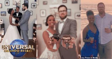 Daphne and Chris Universal Facebook Live Wedding