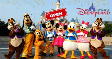 Hong Kong Disneyland Reopening Announcement