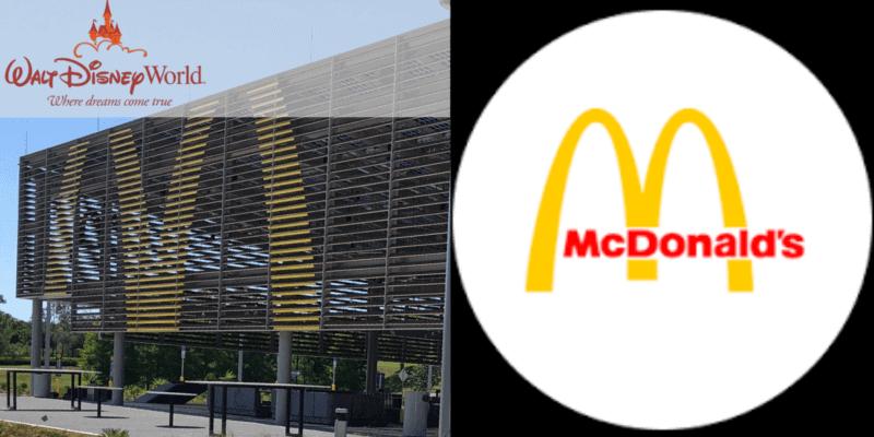 Disney World McDonalds Remodel