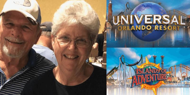 universal orlando couple married