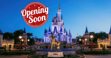 Walt Disney World Reopening
