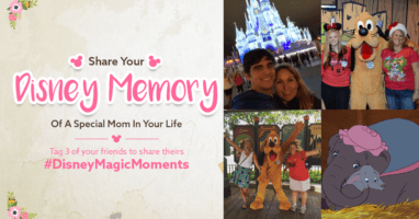 Disney Magic Moments Mother's Day Challenge