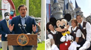 Ron DeSantis Disney World Reopening