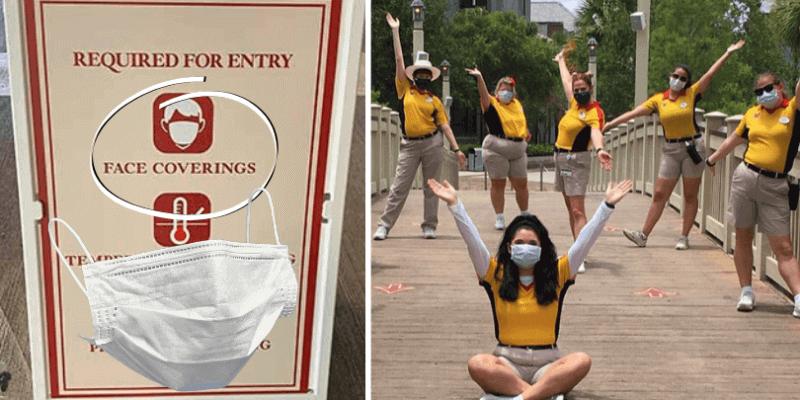 disney springs face masks