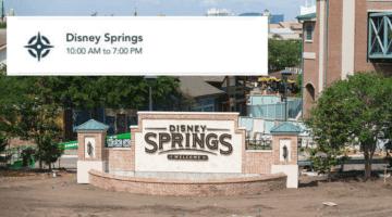 disney springs closing early