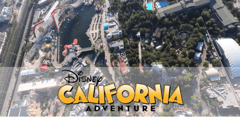Disney California Adventure Flyover