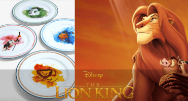 Disney's The Lion King Plates