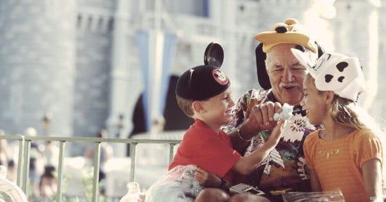 Disney World Grandparents and Grandkids