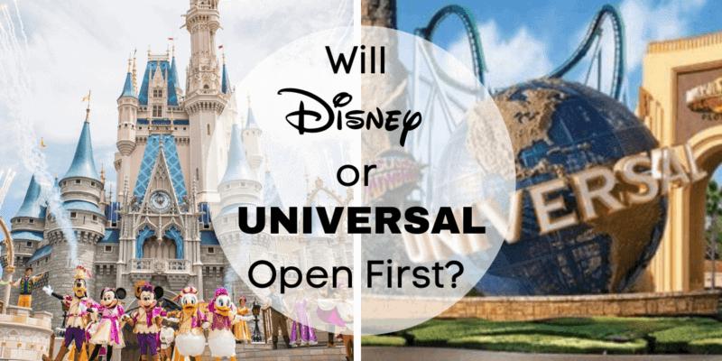Walt Disney World Universal Orlando Reopening