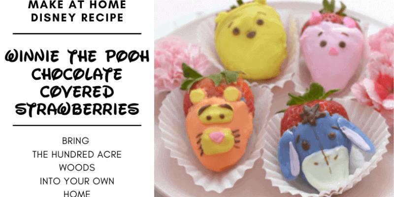 Winnie the pooh chocolate covered strawberries