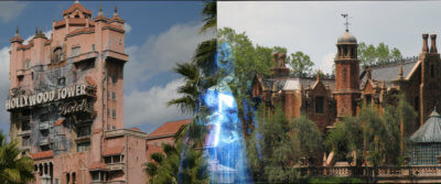 Haunted Mansion and Tower of Terror