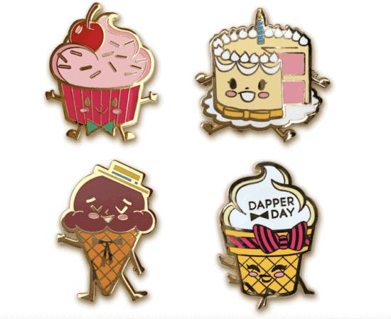 dapper day candy pins 2020