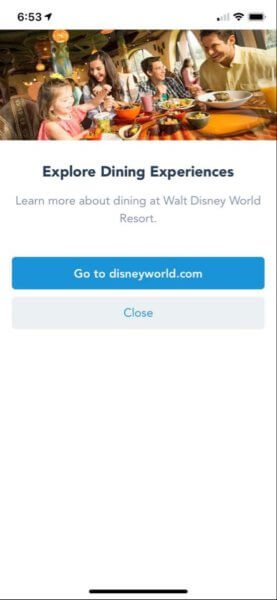 dining reservations 2