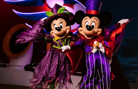 Mickey and Minnie on DCL