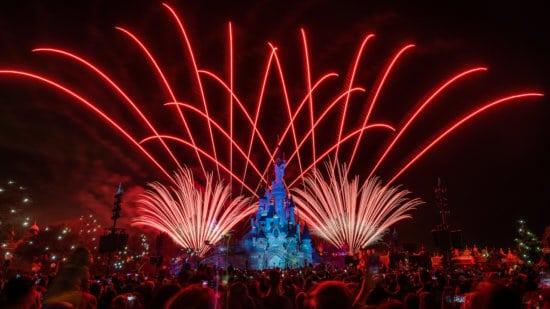 Disney Illuminations Fireworks