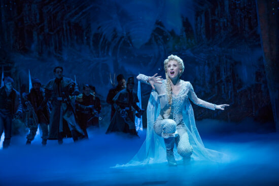 caissie levy as elsa broadway