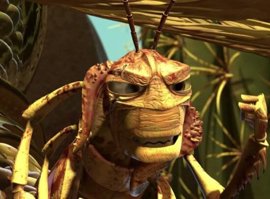 Hopper from A Bug's Life