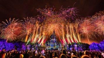 'Disney's Not So Spooky Spectacular' Fireworks at Magic Kingdom