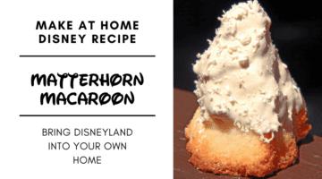 matterhorn macaroon