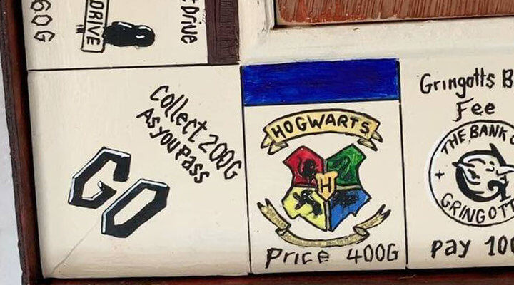 Harry Potter Themed Monopoly Game