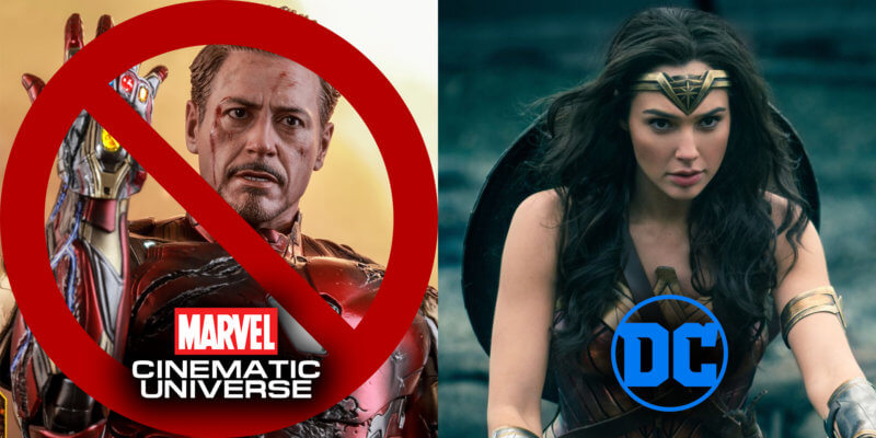 Iron Man and Wonder Woman