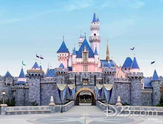 sleeping beauty castle zoom